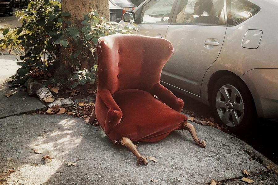 This Chair Can't Take It Anymore